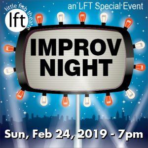 Little Fish Theatre Improv Night